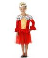 Koningin jurkje voor meisjes