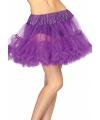 Leg Avenue luxe petticoat paars