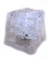 Lichtgevend ijsklontje wit