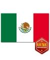 Luxe vlag van Mexico