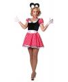 Mamma Mouse kostuum voor dames