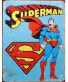 Metalen wandplaat Superman