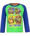 Ninja Turtles t-shirt groen/blauw voor jongens