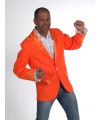 Koningsdag Oranje colbert voor heren