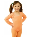 Oranje kinder bodysuit