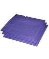 Paarse papieren servetjes 20 stuks