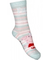 Peppa Big meisjes sokken mintgroen