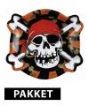 Piraten thema feest pakket