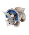 Pluche dinosaurus knuffel triceratops 48 cm
