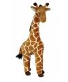 Pluche giraffe staand 60 cm