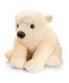 Pluche ijsbeer knuffel 110 cm