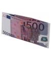 Portemonnee 500 eurobiljet
