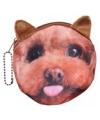 Portemonnee labradoodle hond 10 x 11 cm