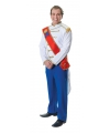 Prince Charming kostuum voor heren