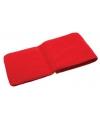 Rode kinder fleece sjaal 112 cm