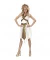 Romeinse godin kostuum voor dames