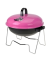 Roze barbecue rond 36 cm