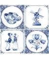 Servetten Delfts blauw 20 stuks