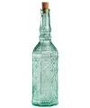 Sierlijke decoratie fles met kurk
