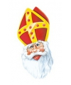 Sinterklaas masker van karton