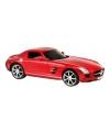 Speelgoed bestuurbare Mercedes Benz rood