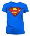 Superman logo t-shirt dames
