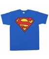 Superman logo t-shirt heren