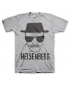 T-shirt Breaking Bad Heisenberg grijs