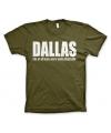 T-shirt Dallas logo