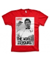T-shirt Scarface rood