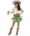 Tequila kostuum voor dames