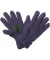 Thinsulate fleece handschoenen aubergine