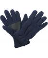 Thinsulate fleece handschoenen navy