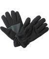 Thinsulate fleece handschoenen zwart