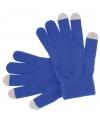 Touchscreen handschoenen blauw