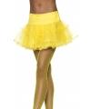Tule petticoat geel
