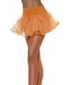 Tule petticoat oranje