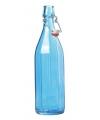 Turquoise fles met beugeldop