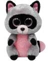 Ty Beanie knuffel wasbeer 24 cm