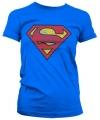 Vintage Superman logo t-shirt dames