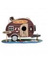 Vogelhuis caravan met boei 28 cm