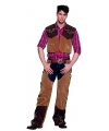 Toppers Western kostuum Cowboy