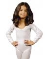 Witte kinder bodysuit