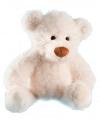 Witte knuffelbeer Martin 28 cm