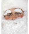 Witte Sint of Kerstman wenkbrauwen