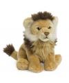 WNF pluche leeuw knuffel zittend 23 cm