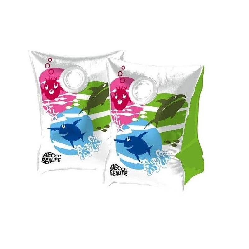 Gekleurde Beco zwemvleugels maat 0 15-30 kg -