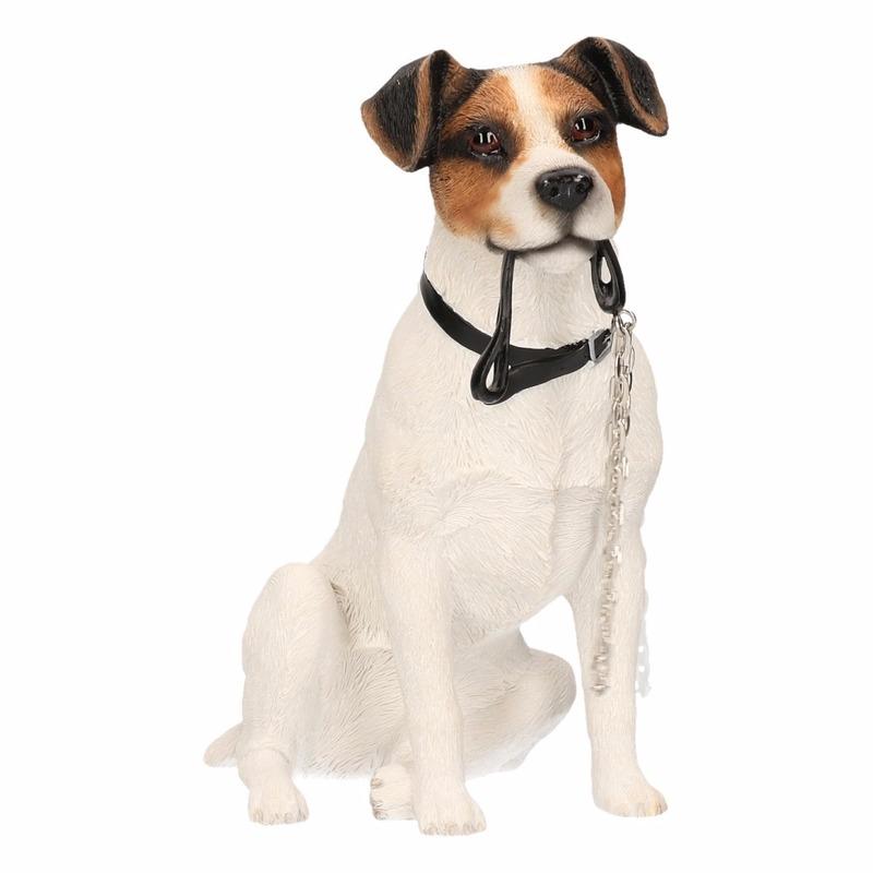 Verwonderlijk Honden beeldje Jack Russel met riem 15 cm bestellen - Shoppartners JJ-93