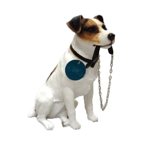 Spiksplinternieuw Honden beeldje Jack Russel met riem 15 cm bestellen - Shoppartners FD-71