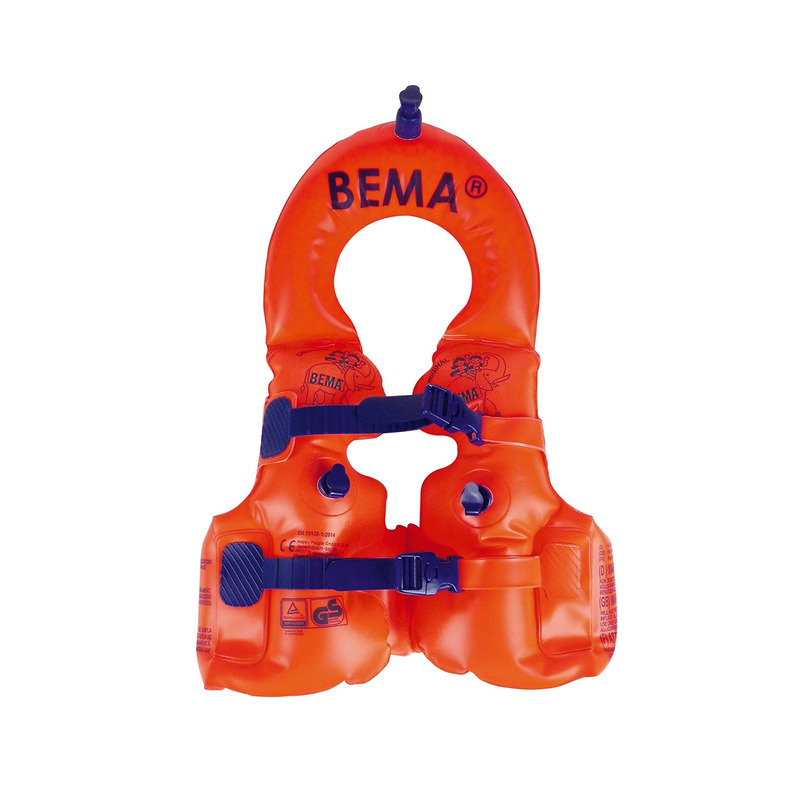 Oranje zwemvest / reddingsvest 1-2 jaar